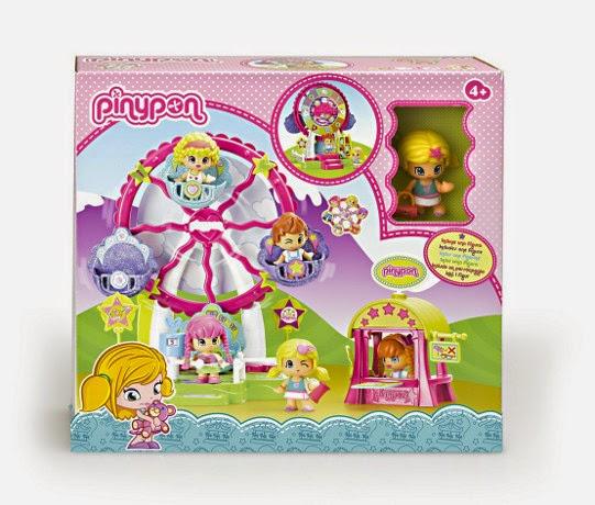 JUGUETES - PINYPON - Noria  Producto Oficial 2014 | Famosa 700010563 | A partir de 4 años