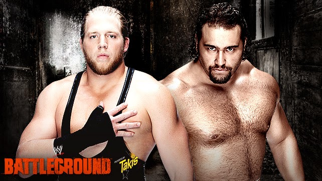 Battleground 2014 » Jack Swagger vs Rusev