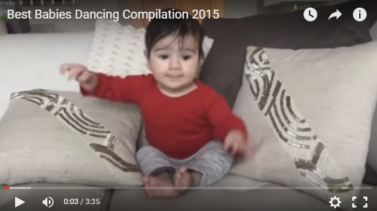 http://funkidos.com/videos-collection/funny-videos/best-babies-dancing-compilation