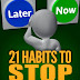 21 Habits To Stop Procrastination - Free Kindle Non-Fiction