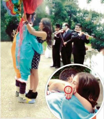 El futbolista Diego Reyes se compromete en matrimonio