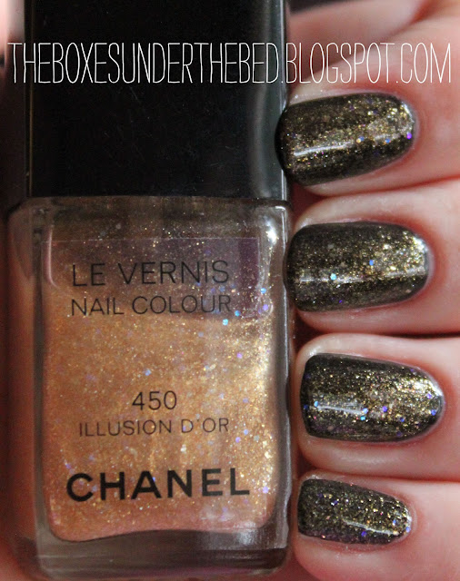 Chanel Le Vernis Illusion D'Or Nail Polish Swatch