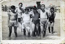 Colonia Escolar en la playa de Isla Cristina el 3 de Agosto 1959