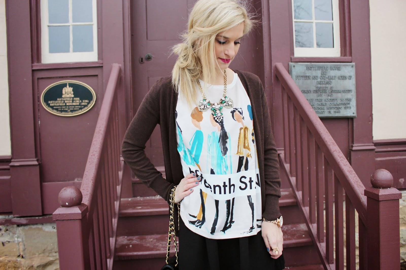bijuleni - printed Zara top