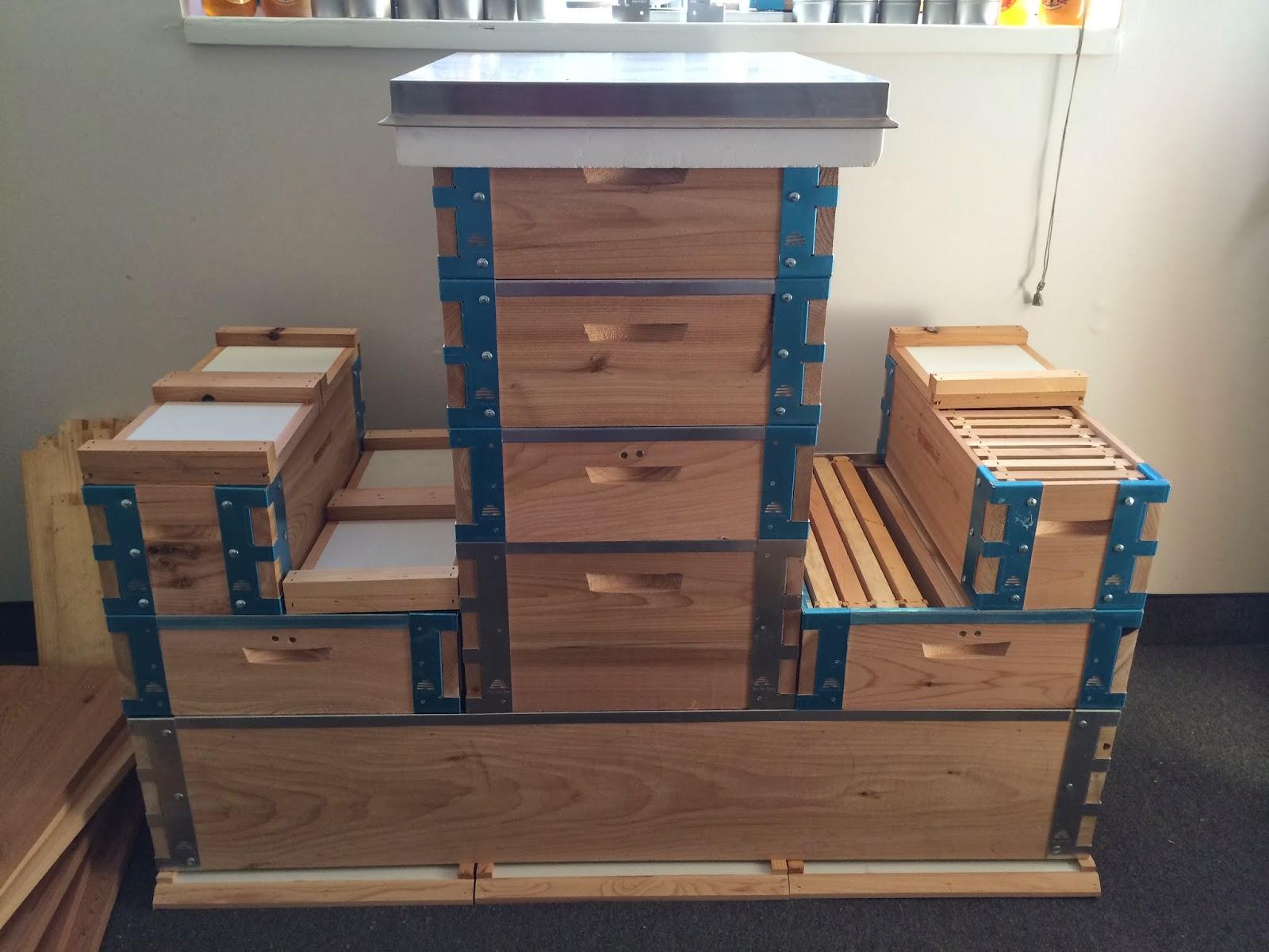Attirant Beehive Kits, Cedar Langstroth, Top Bar, Comb, Honey Bee, Utah Hive