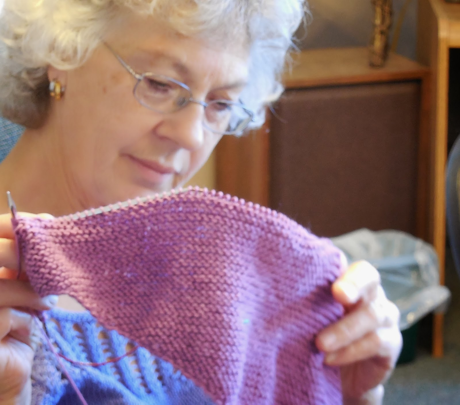 Knitting Groups Near Me : Brenda knits thursdays are for knit group