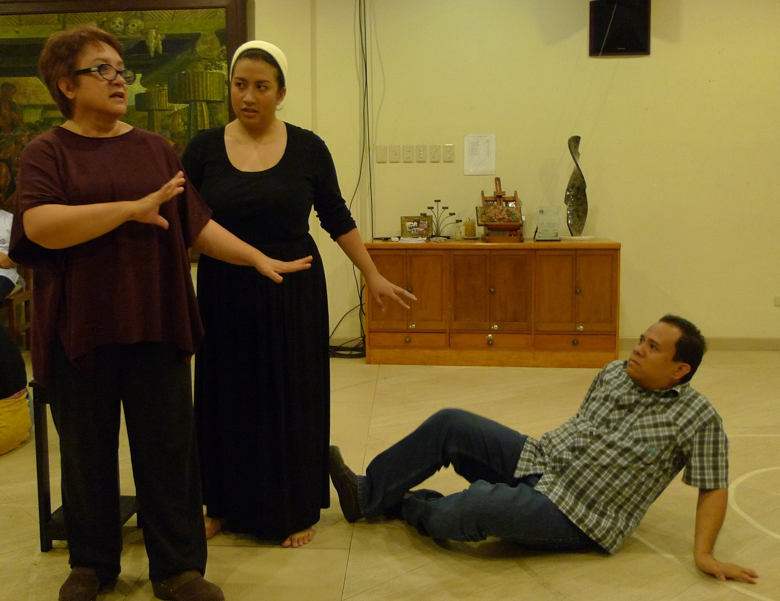 Photo Exclusive: In Rehearsal with the Cast of CARMEN; Laurice Guillen Directs