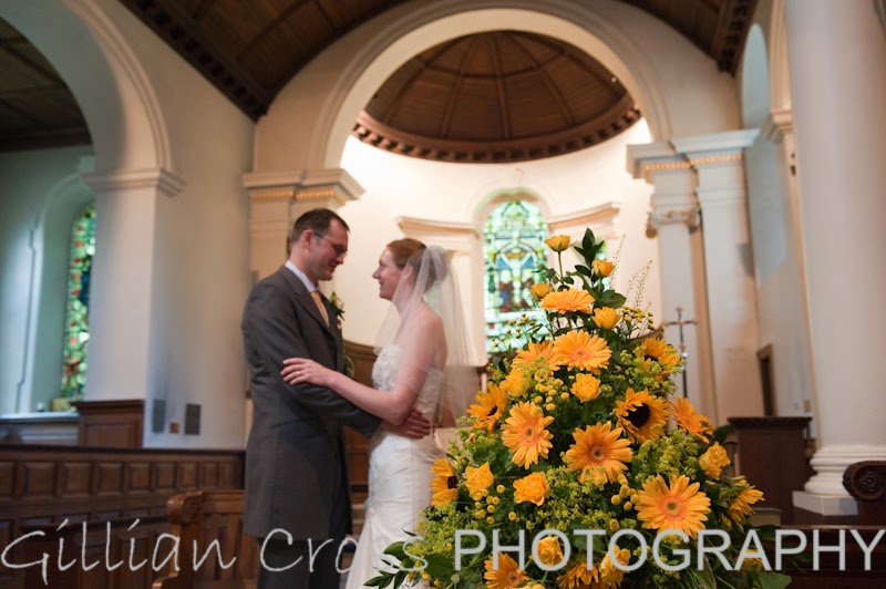 St Nicholas church wedding, Gosforth