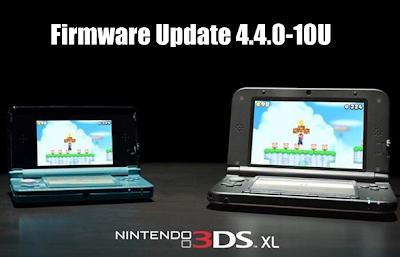 3DS System Update 4.4.0-10U