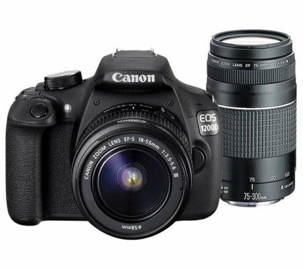 Gambar Canon EOS 1200D Kamera DSLR 2014 Tampak Depan