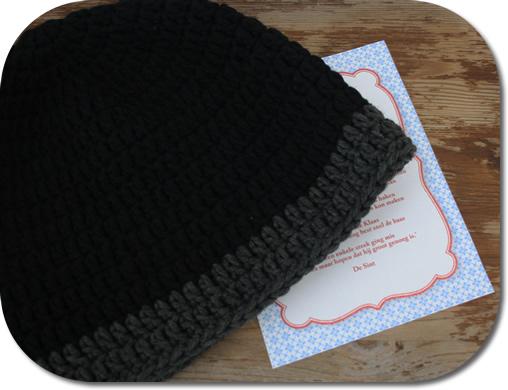 Free crochet pattern - beanie man