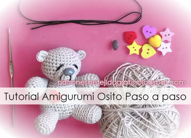 Tutorial amigurumi oso paso a paso en video