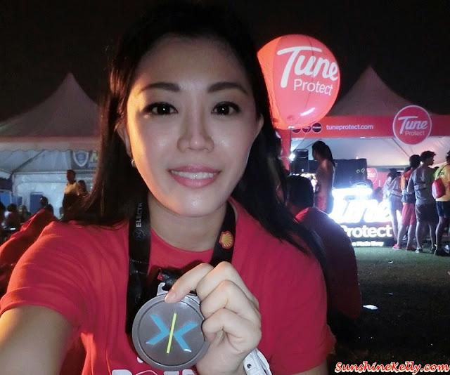 Electric Run 2015, My First Electric Run 2015 Experience, Running Experience, Electric Run Experience, Running, Fitness, Selangor Turf Club, Running Medal, Run Medal