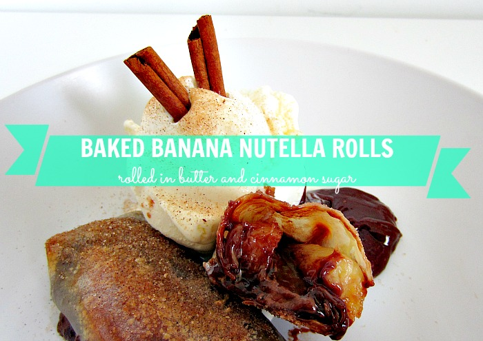 banana nutella, speculoos cookie butter recipe