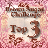 Top 3 Over At Brown Sugar Challenge 23rd August 2013