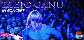 Concert de Fabio Canu al Legends de Terrassa