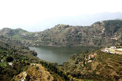 Bhimtal Lake From United-21 Resort