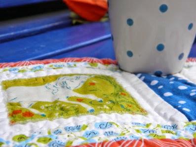 A mug rug for fall!