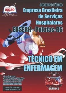 Está aberto o Concurso da Empresa Brasileira de Serviços Hospitalares / Pelotas (EBSERH) TODOS CARGOS 2015