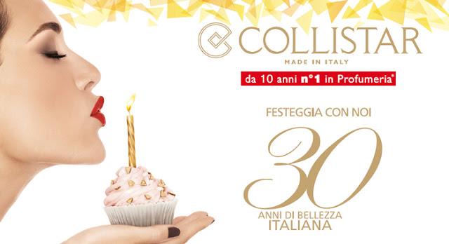 Collistar Buon Compleanno 30 anni collezione primavera/estate 2013