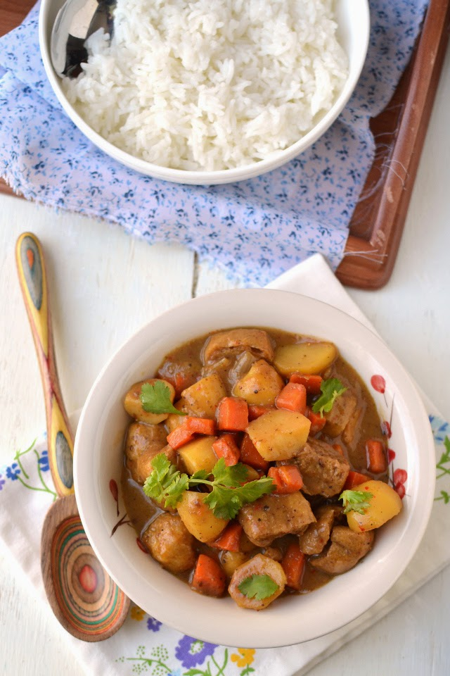 Vegetarian Thai Massaman Curry