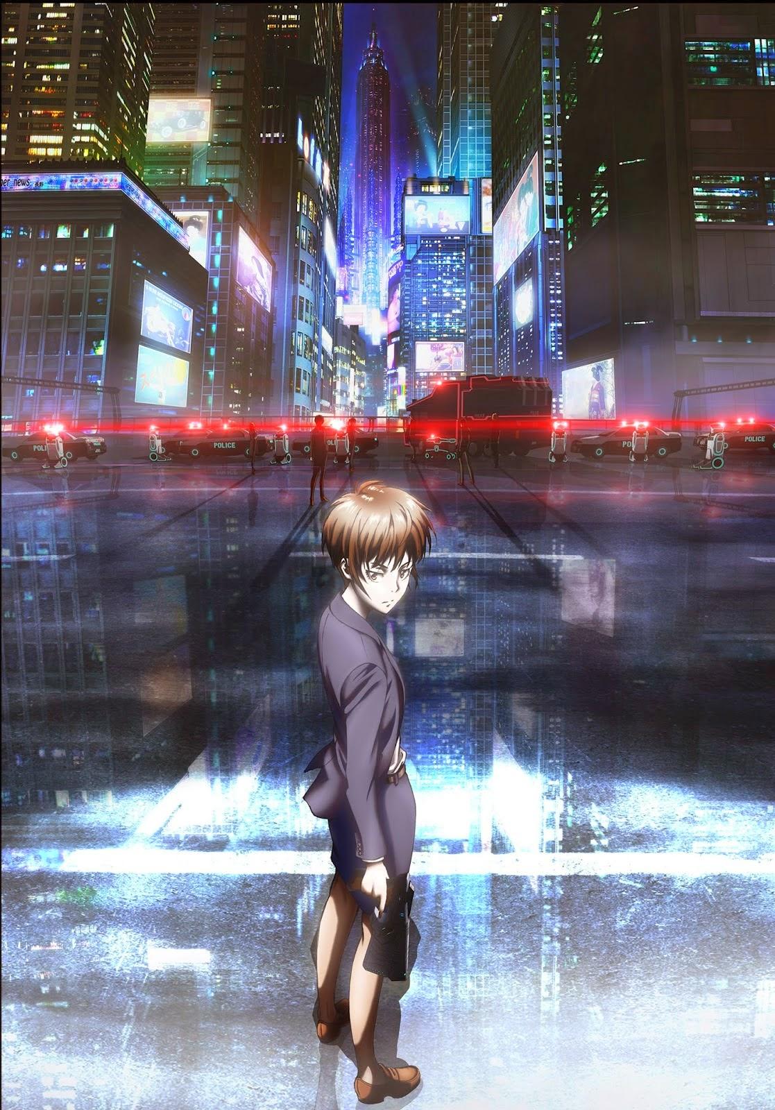[ Info-Anime ] Season Ke 2 Dari Anime Psycho-Pass Akan Debut Di Bulan Oktober
