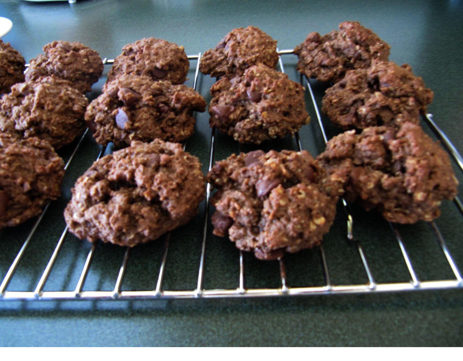 Cutler's Cookies: Double Chocolate Oatmeal Cookies