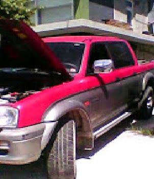 MITSUBIHI L200 DISEL 4Χ4 TURBO τετράπορτο μοντέλο 2000 χρώμα ασιμί κόκκινο τίμη 6800 €