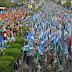 In Solidarity with Gaza : Gaza Million March Karachi, Pakistan
