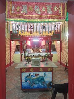 Kathu Chinese Shrine - open for Asalha Bucha Day