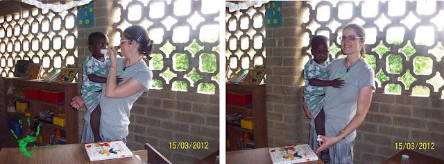 I bambini della Missione in Togo a scuola
