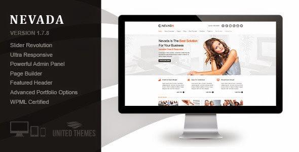 Nevada WordPress Theme Free [Current Version 1.8.1]