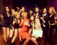 snsd - girls generation and kellyripa