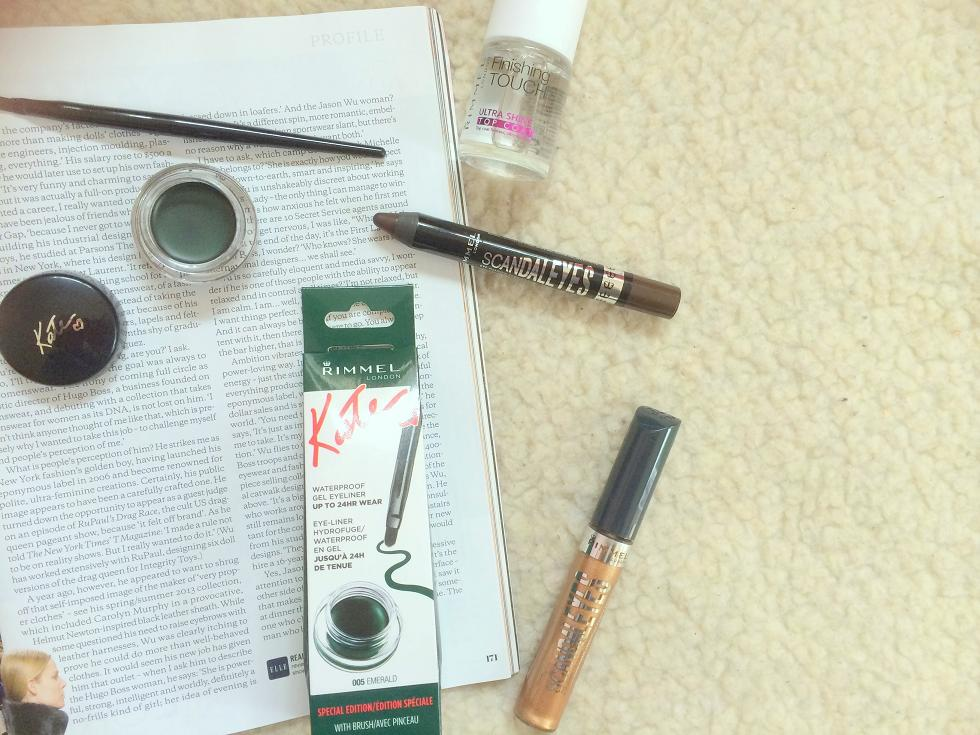 rimmel makeup haul