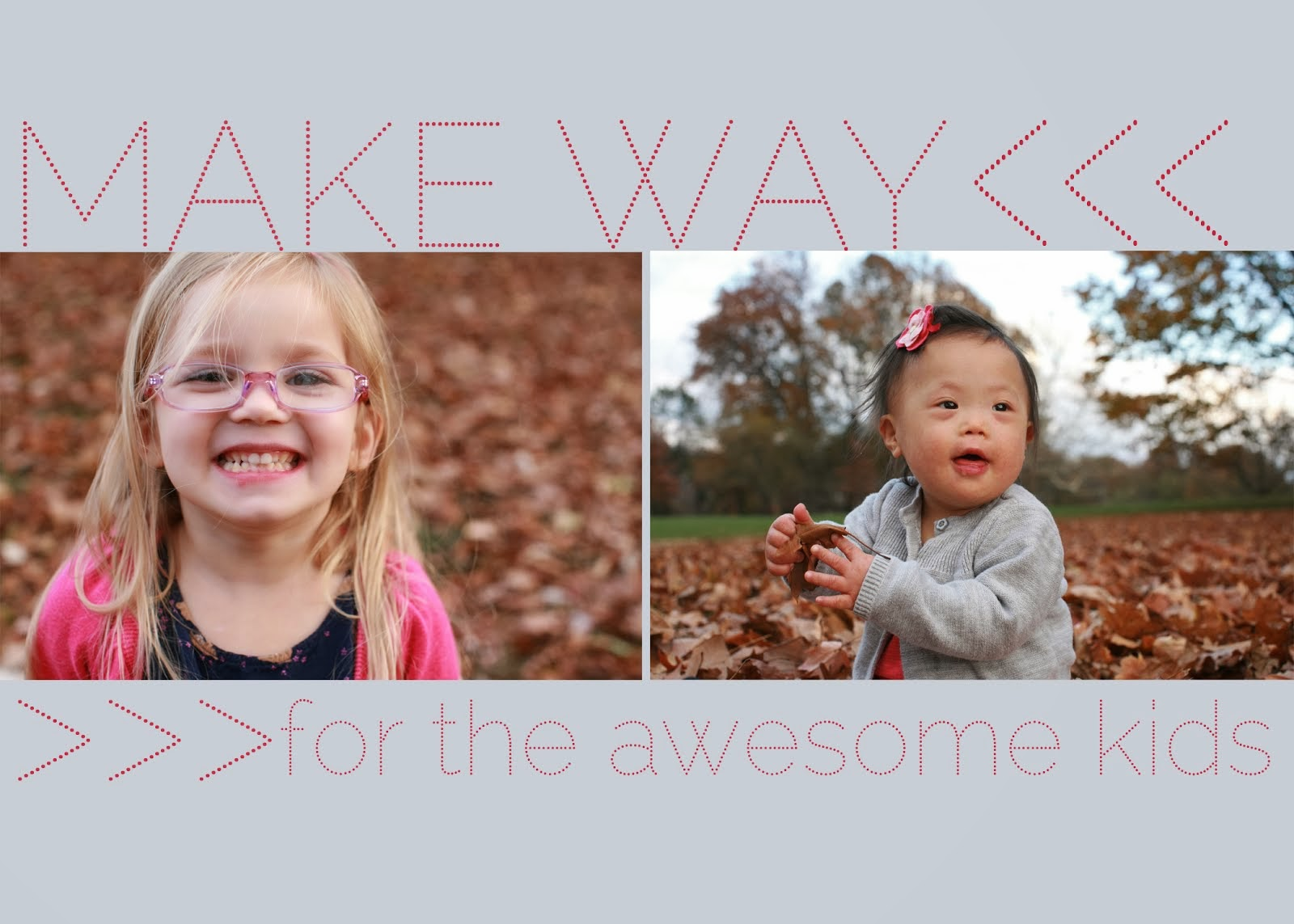 make way for the awesome kid