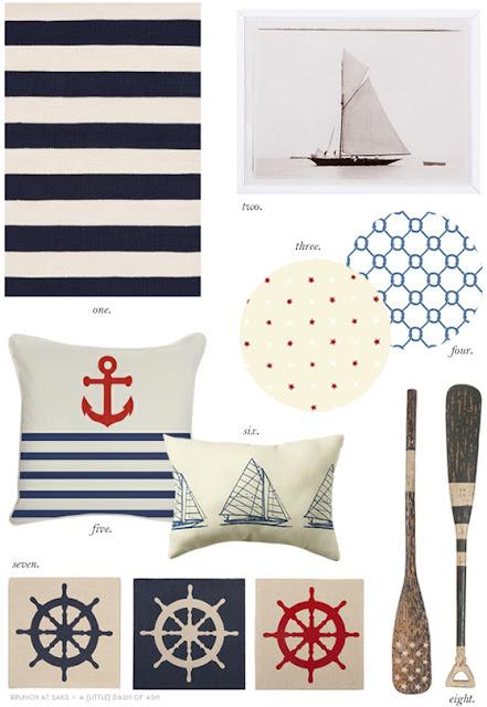 Coastal Style Nautical Decor