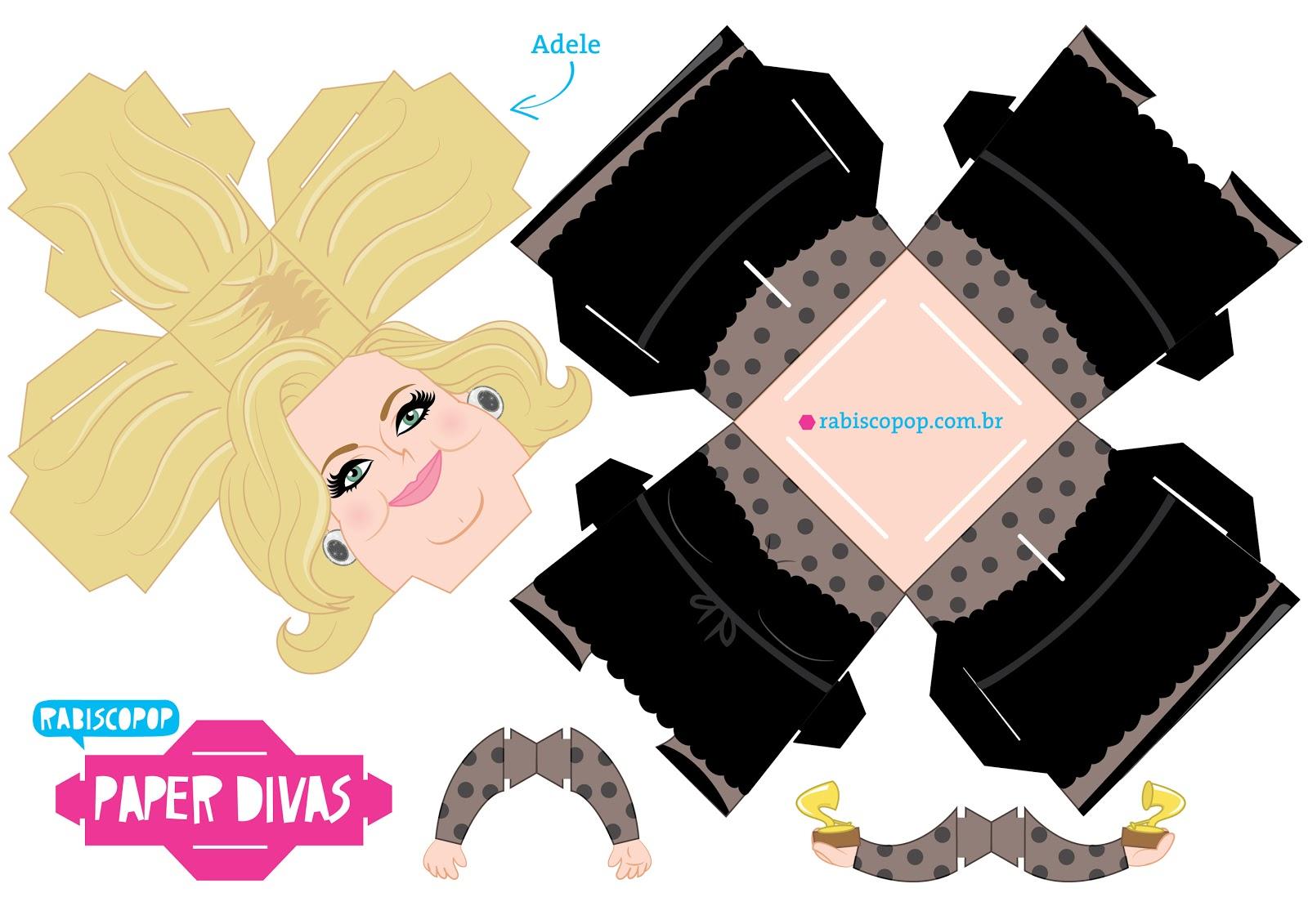 Cubeecraft de Adele - Manualidades a Raudales.