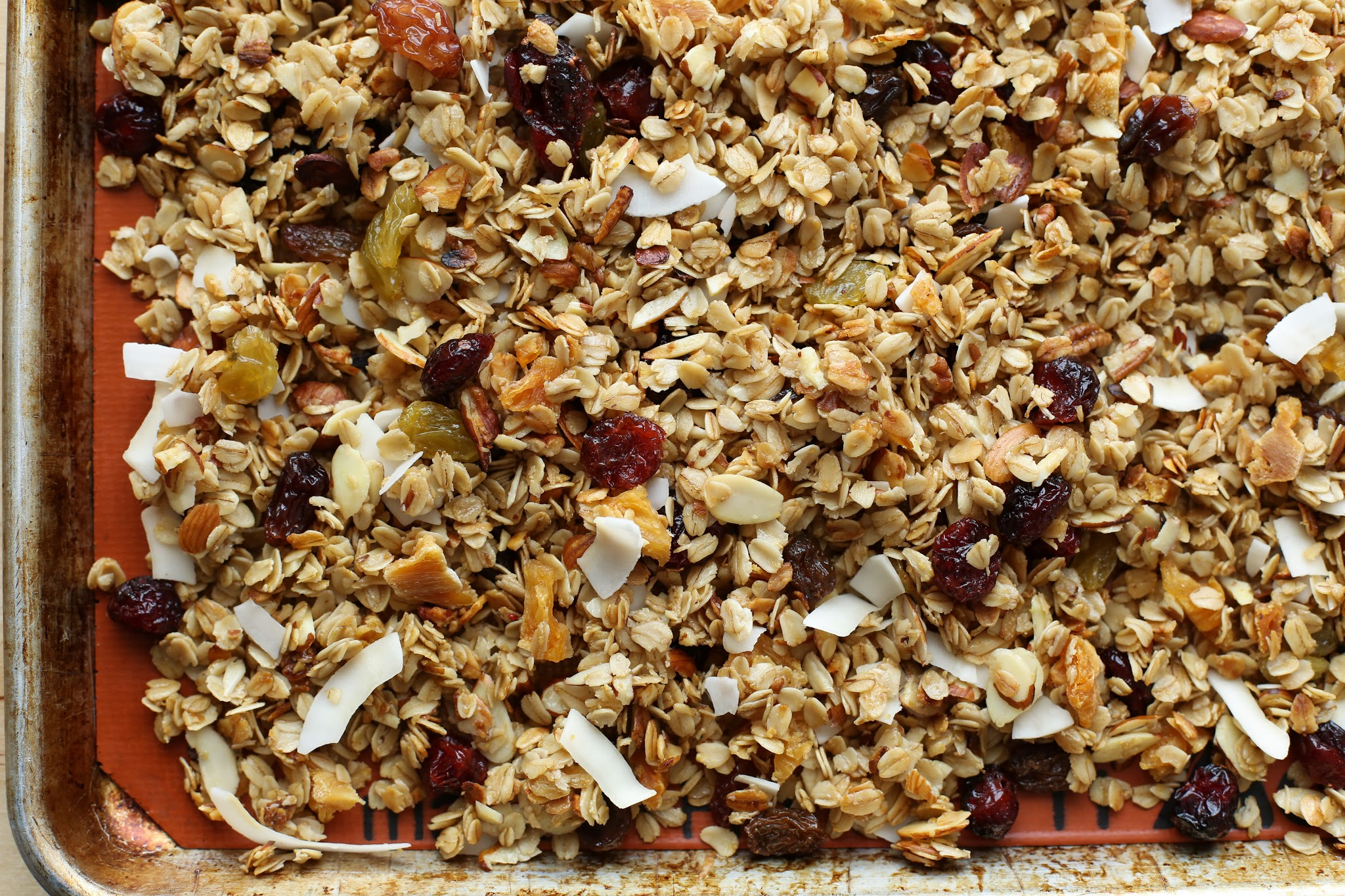 crockpot tropical coconut granola recipe
