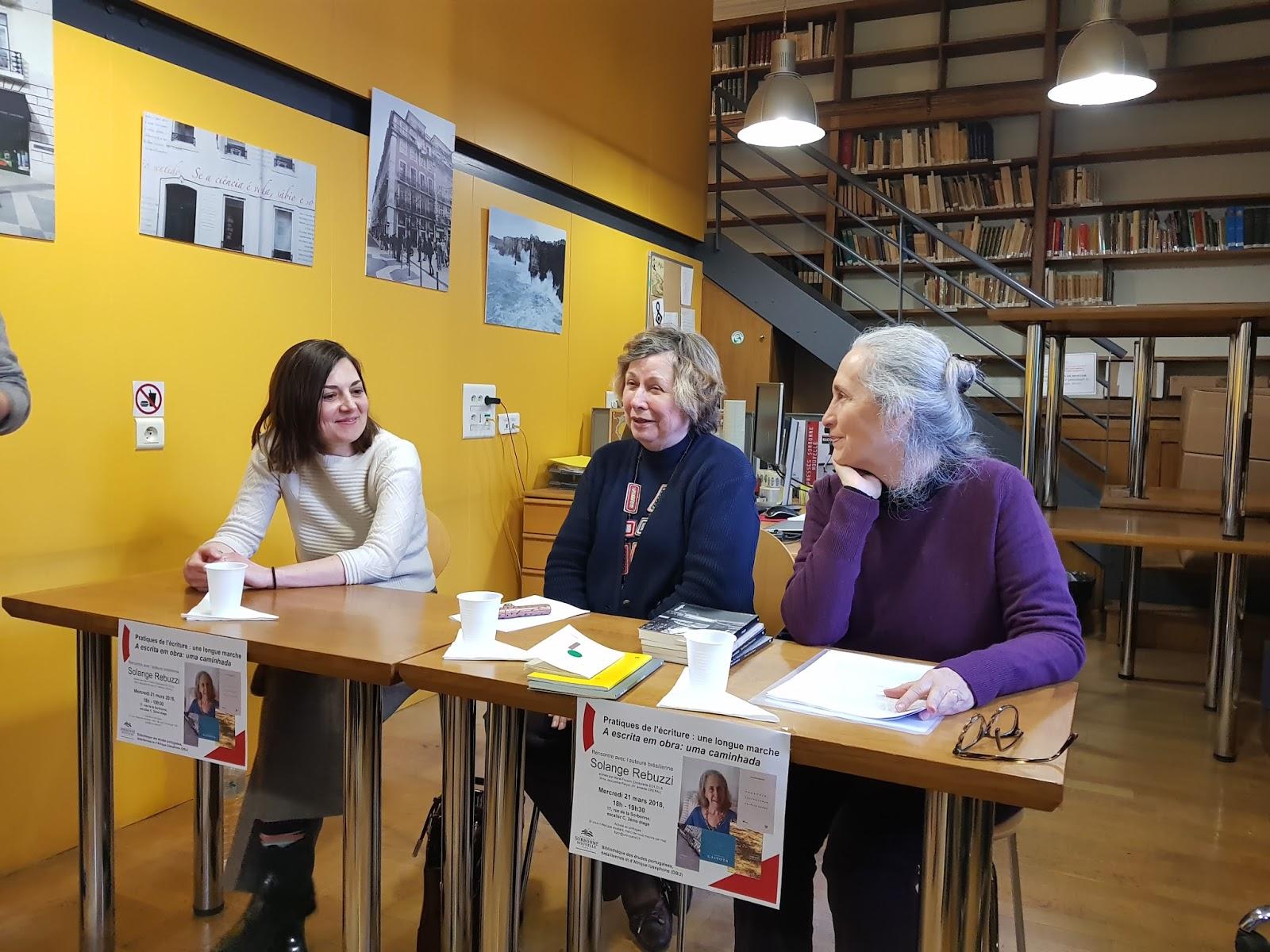 Apresentação de meus livros na Sorbonne, Paris3. 2018