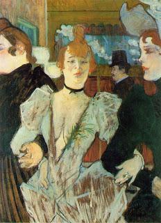 La Goulue en el Moulin Rouge - Henri de Toulouse-Lautrec