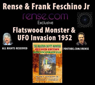 Frank Feschino Jr Details The 1952 Flatwoods Mass UFO Invasion On The Jeff Rense Show
