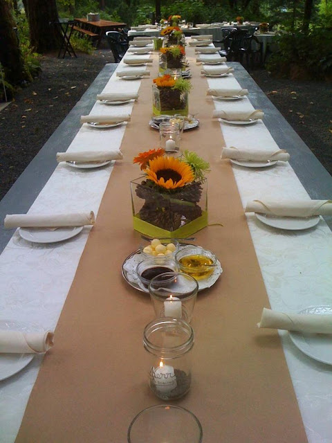 Always Perfect Catering Unique Portland Wedding Table