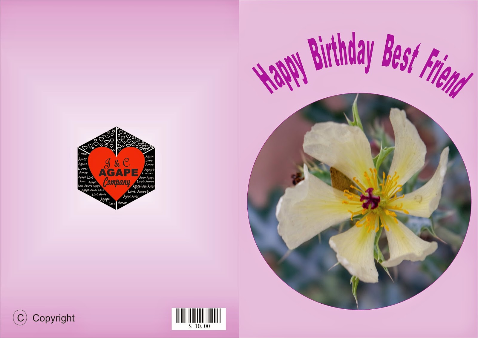 Greeting Cards Print At Home Happy Birthday Best Friend Feliz