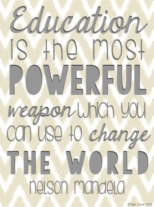 nelson mandela on education quotes quotesgram