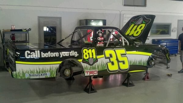 Mason Mingus' ride for Martinsville
