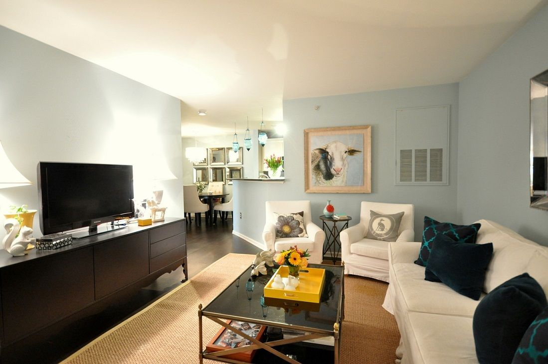 Would you paint multiple rooms the same color Home interior design for small space