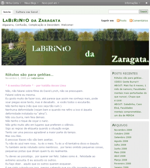 Visite LaBiRiNtO da Zaragata