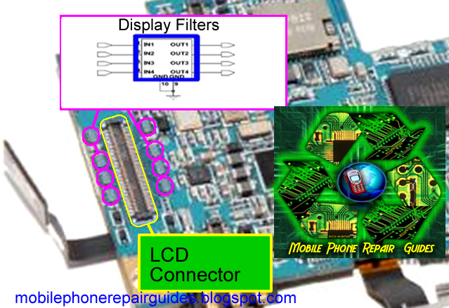 Samsung Galaxy S LCD  Screen Display Problem Solution picture