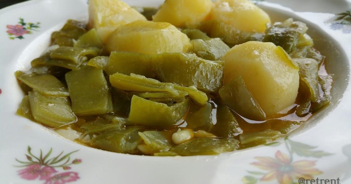 Recetas de pu o y letra jud as verdes con patatas - Judias con chorizo y patatas ...