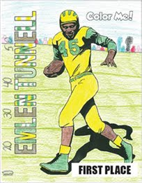 ENTER EMLEN TUNNELL COLORING CONTEST WINNER